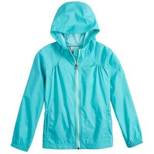 Girls Columbia Lightweight Rain Jacket